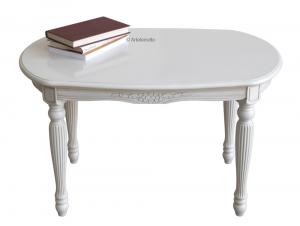 Table basse ovale laquée Uni-style
