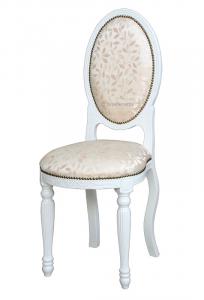 Petite chaise ovale Empire