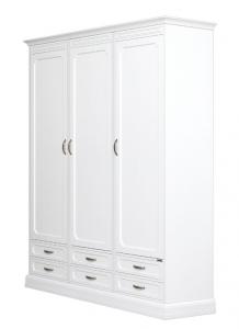 Armoire modulaire en bois 3 portes 6 tiroirs