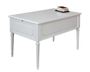Table bureau laquée en bois style Louis XVI