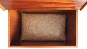 Coffre pour stockage de pellets