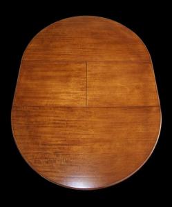 Table à manger ronde extensible - diamètre 100 cm
