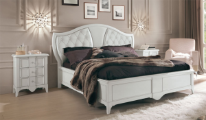 Table de chevet White Lux