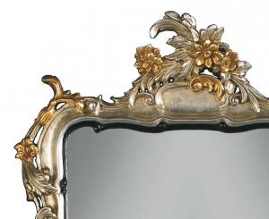 Spiegel Blattgold elegant 71 x 99 cm
