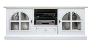 Möbel TV Weiß elegant White Diamond