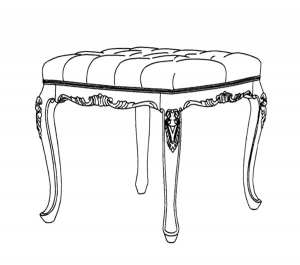 Meuble Coiffeuse de style classique Aurore