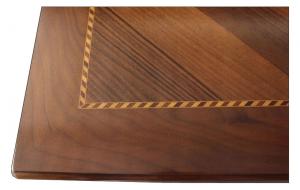 Table de salle à manger carrée 100-200 cm