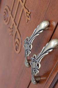 Holz Schuhschrank 2 Türen Kollektion You