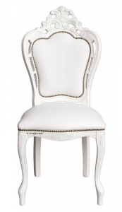 Chaise sculptée Magic White