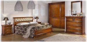Doppelbett mit Polsterung Klassisch