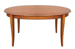 Table ovale 160 cm à rallonge