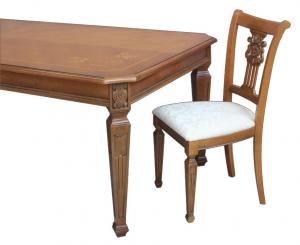Table de salle à manger plateau fixe 230 cm Master