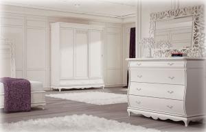 Commode blanche White Dream