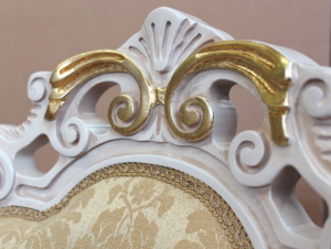 Chaise classique White Gold