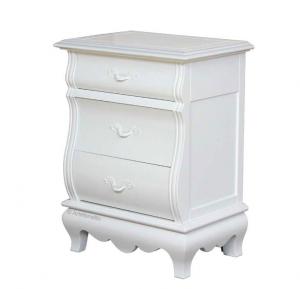 Chevet 3 tiroirs White Dream