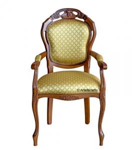 Chaise bout de table classique