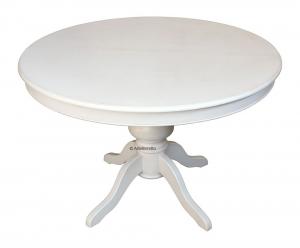 Table salle à manger prolongeable - diamètre 110 cm