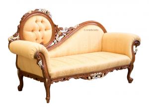 Recamiere Sofa 3 Sitzplätze Lady Eterea