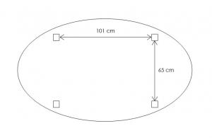 Tisch Oval Ausziehbar 160-210 cm Naturholz