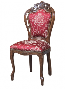 Chaise classique sculptée