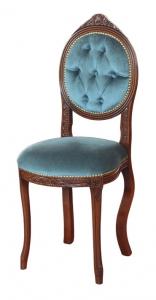 Kleiner Stuhl Ovalina capitonné