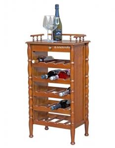 Flaschenregal Holz für 20 Weinflasche