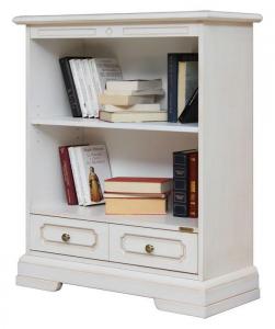 Bibliothèque basse avec tiroir