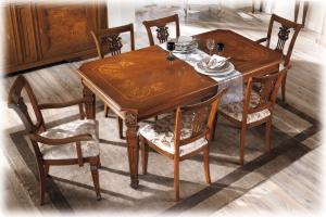 Table de salle à manger Lux cm 180-260