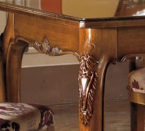 rechteckiger Esstisch im Stil ausziehbar 160-250 cm
