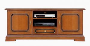 Banc Tv classique en bois