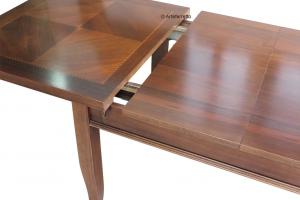 Table rectangulaire extensible cm 160-300
