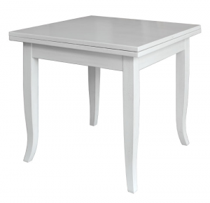 Table carrée extensible 80-160 cm
