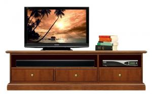 Meuble Tv Barre de son 3 tiroirs