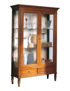 Glasvitrine 2 Türen - Klassischer Stil