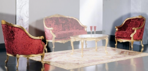 Fauteuil Luxury Gold