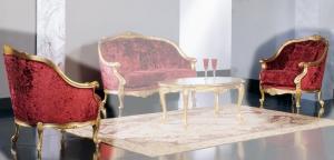 Sessel Luxury Gold Klassisch