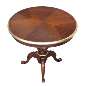 Table de thé ronde 60 cm diamètre
