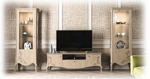 TV-Bank klassisch elegant Original Wood