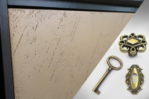 TV-Möbel 150 cm breit bronzen Türen Riace