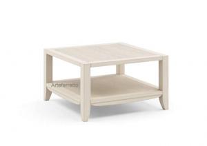 Table basse de salon 70x70 cm Paradise