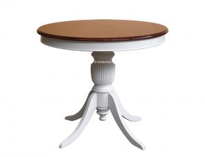 Runder Tisch 90 cm Durchmesser zentrale Beine