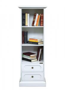 Bibliothèque colonne petite largeur