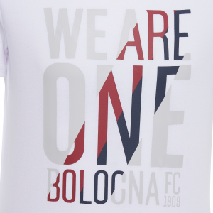 T-SHIRT COTONE WE ARE ONE 2020/21 (Bambino) Bologna Fc