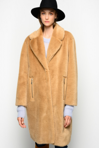 SHOPPING ON LINE PINKO CAPPOTTO FAUX FUR VISONE EVARISTO NEW COLLECTION WOMEN'S FALL WINTER 2020/2021