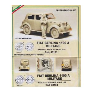 FIAT BERLINA 1100 A MILITARE