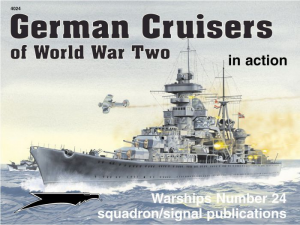 GERMAN CRUISERS PF WORLD WAR TWO
