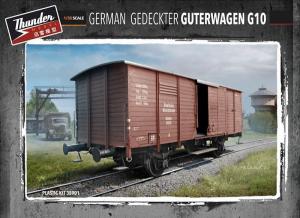 German Gedeckter Guterwagen G10