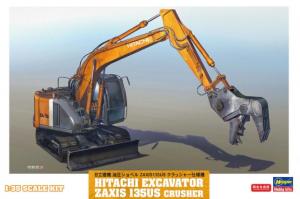 Hitachi Excavator Zaxis 135US Crusher