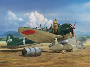 """IJN Type 96 carrier-based fighter II A5M2b """"Claude"""" (early version)"""