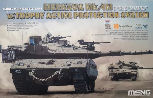 Israel Main Battle Tank Merkava Mk.4M w/Trophy Active Protection System